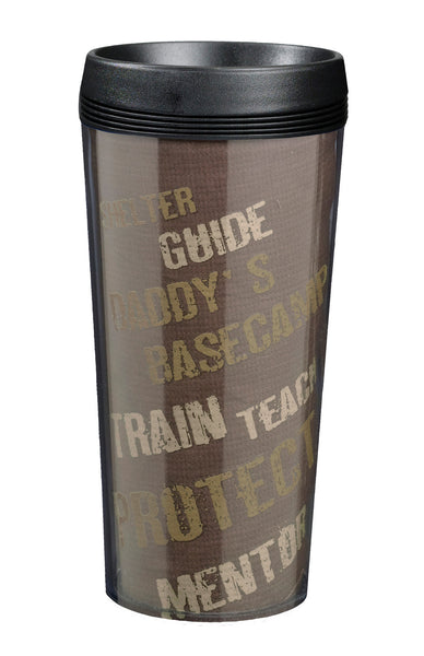 Daddy Outdoor Cup-Travel Mugs-Here Comes The Bling™
