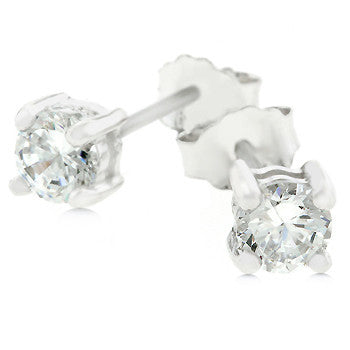 Dana Round Stud Earrings-Earrings-Here Comes The Bling