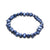 Dark Blue Pearl Stackable Stretch Bracelet