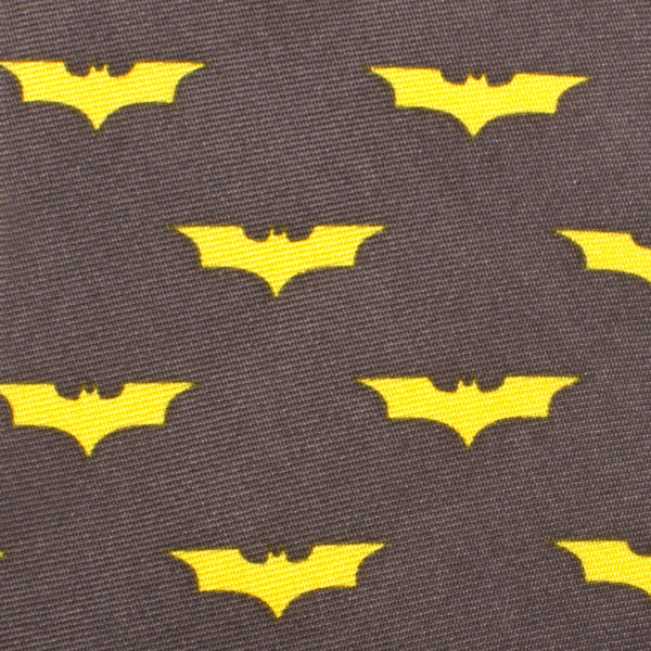 Dark Knight Batman Boys' Zipper Silk Tie-Boys-Ties-Here Comes The Bling™