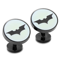 Dark Knight Batman Signal Glow-in-the-Dark Cufflinks-Cufflinks-Here Comes The Bling™