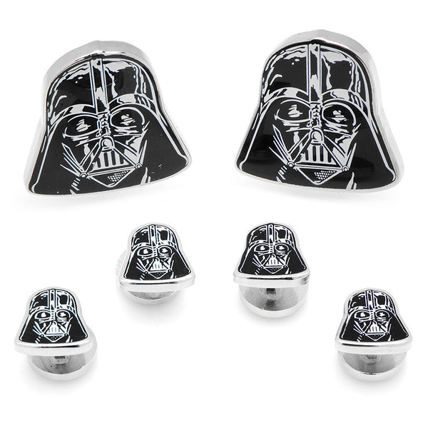 Darth Vader Head Stud Set-Tux Stud Set-Here Comes The Bling™