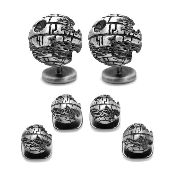 Death Star 3D Tux Stud Set-Tux Stud Set-Here Comes The Bling™