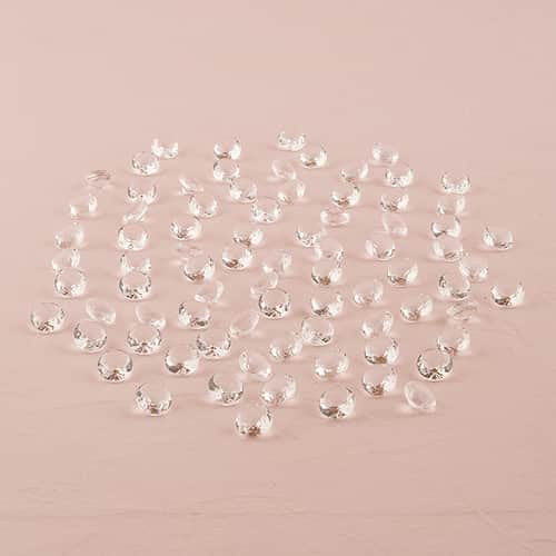 Decorative Acrylic Cut Diamonds - Pack of 80-Embellishments-Here Comes The Bling™