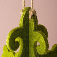 Decorative Artificial Moss Chandelier (Available in 2 Sizes)-Decor-Hanging-Here Comes The Bling™