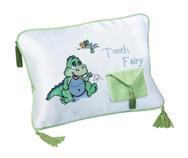 Dinosaur Tooth Fairy Pillow-Baby Gifts-Here Comes The Bling™