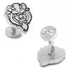 Disney's Beauty and The Beast - Classic Beast Head Cufflinks-Cufflinks-Here Comes The Bling™