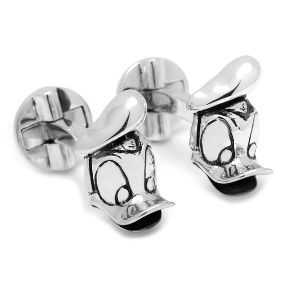Donald Duck 3D Cufflinks-Cufflinks-Here Comes The Bling™
