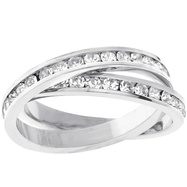 Double-Band Eternity Ring-Rings-Here Comes The Bling™