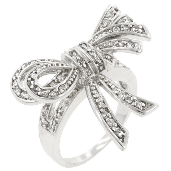 Double Knot Shoelace Ring-Rings-Here Comes The Bling™