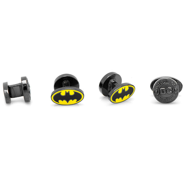 Enamel Batman Tuxedo Studs-Tux Stud Set-Here Comes The Bling™