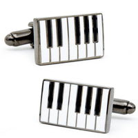 Enamel Piano Cufflinks-Cufflinks-Here Comes The Bling™
