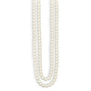 Endless Pearl Necklace and Earring Set-Necklaces-Here Comes The Bling™