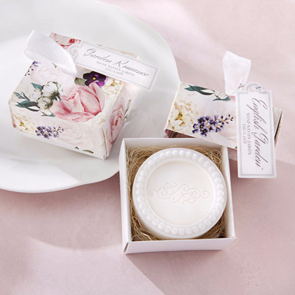 English Garden Soap In Floral Box-Favors-Soaps-Here Comes The Bling™