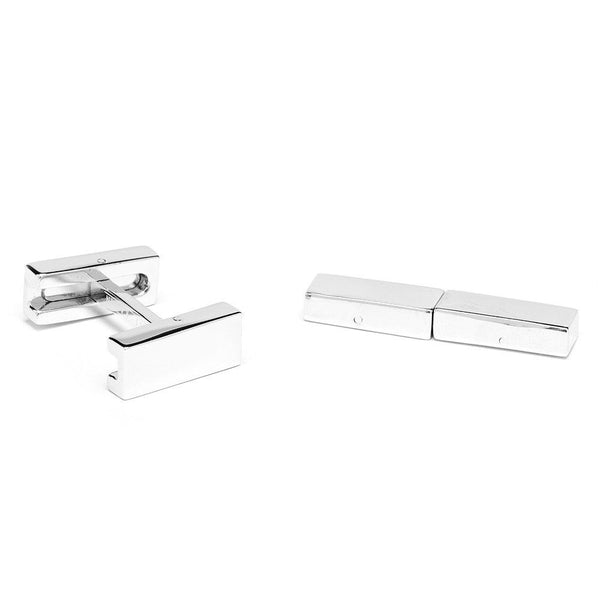 Engravable Flip Bar Cufflinks-Cufflinks-Here Comes The Bling™