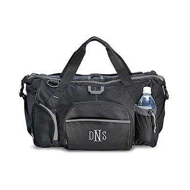 Exploration Duffle Bag in Black-Mens-Bags-Here Comes The Bling™