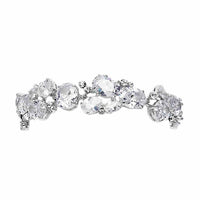 Exquisite Bracelet with Multi Cubic Zirconia Shapes-Bracelets-Here Comes The Bling™