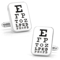 Eye Chart Cufflinks-Cufflinks-Here Comes The Bling‰̣ۡå¢