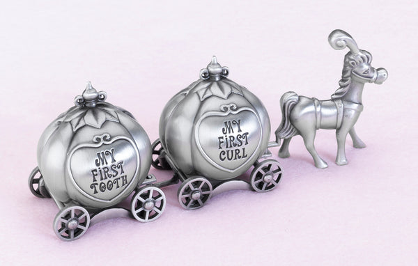 Fairytale Coach Tooth & Curl Box-Baby Gifts-Here Comes The Bling™