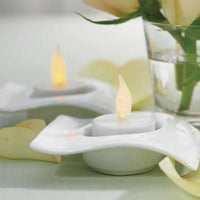 Flameless Battery Operated Tealights Pack of 6-Shop Trending Wedding Themes-Here Comes The Bling™