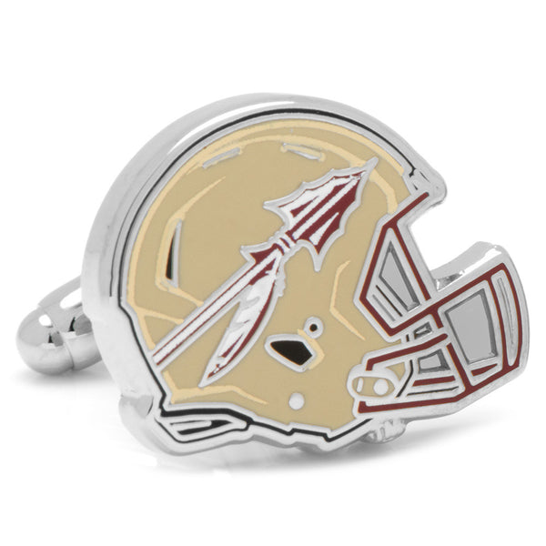 Florida State Seminoles Helmet Cufflinks-Cufflinks-Here Comes The Bling™