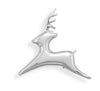 Flying Reindeer Fashion Pin/Pendant-Brooches-Here Comes The Bling™