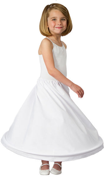 Girls 1 Ring Hoop Skirt Petticoat-Girls-Accessories-Here Comes The Bling™