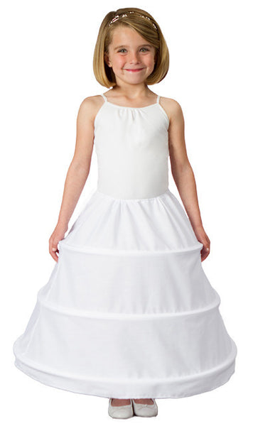 Girls 3 Ring Hoop Skirt Petticoat-Girls-Accessories-Here Comes The Bling™