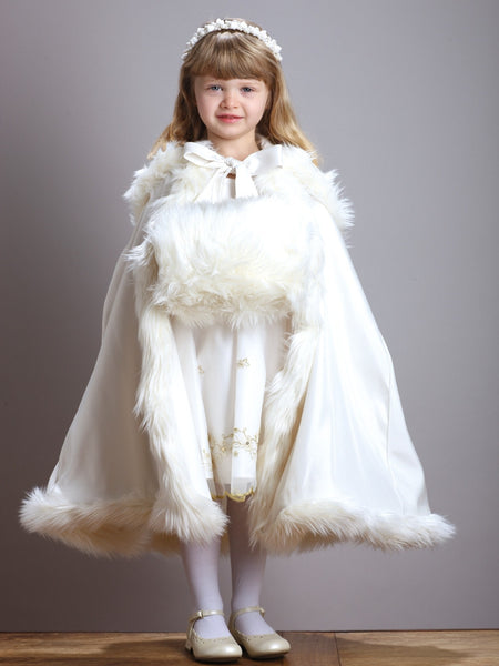 Girl's Faux Fur Angora Hand Muff (Available 3 Colors)-Girls-Accessories-Here Comes The Bling™