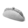Glistening Minaudiere Evening PurseinSilver-Clutch-Here Comes The Bling™
