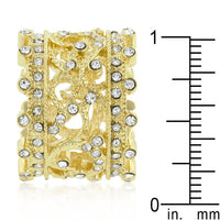 Golden Filigree Eternity Band-Rings-Here Comes The Bling™