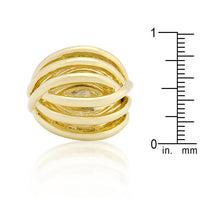 Golden Illusion Fashion Ring-Rings-Here Comes The Bling™