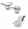 Golf Driver Cufflinks-Cufflinks-Here Comes The Bling™