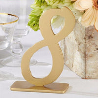 """Good As Gold"" Classic Table Numbers (sold in sets of 6 numbers)-Table Numbers-Here Comes The Bling™"