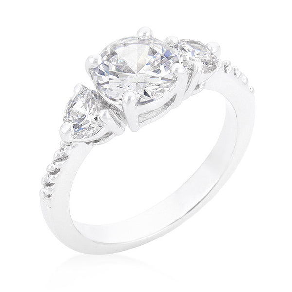 Graduated Engagement Classic Ring-Rings-Here Comes The Bling™