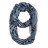 Grey Shauna Infinity Scarf-Scarf-Here Comes The Bling