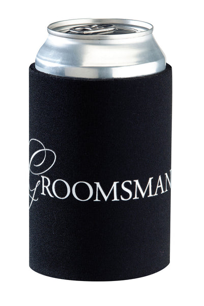 Groomsman Cup Cozy-Cup Coozy-Here Comes The Bling™