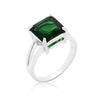 Gypsy Emeral Green CZ Ring-Rings-Here Comes The Bling䋢