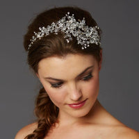 Hair Vine with Lavish Crystals Sprays-Headband-Here Comes The Bling™