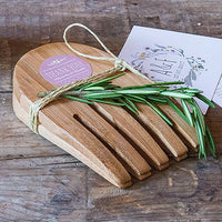 """Hand in Hand"" Bamboo Server Set-Favors-Kitchen Tools-Here Comes The Bling™"