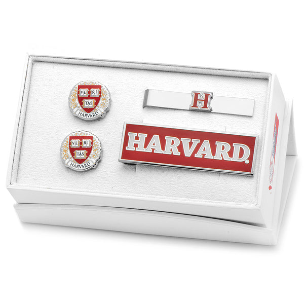 Harvard University 3-Piece Gift Set-Mens 3 Piece Gift Set-Here Comes The Bling™
