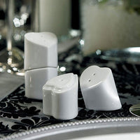 """Heart to Heart"" Interlocking Salt & Pepper Shakers Pack of 12-Favors-S&P-Here Comes The Bling™"