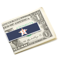 Houston Astros Money Clip-Money Clip-Here Comes The Bling™