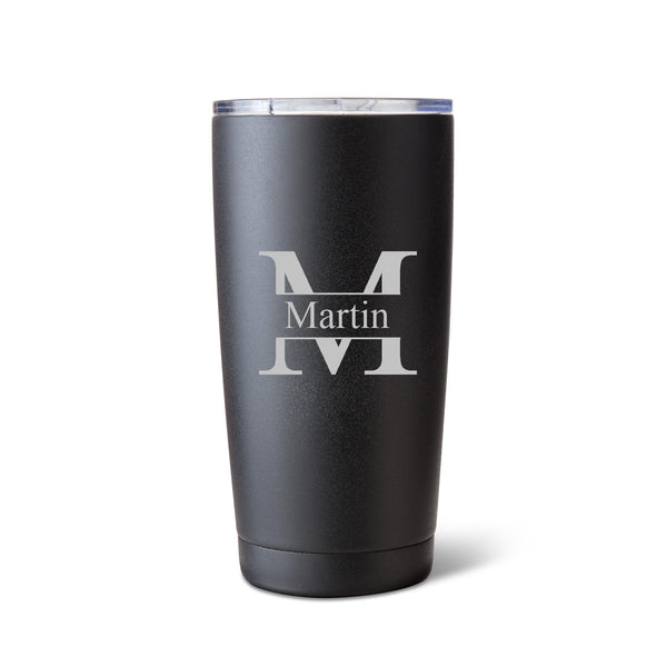 Húsavík 20 oz. Stamp Monogram Tumbler-Travel Mugs-Here Comes The Bling™