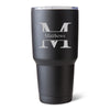 Húsavík 30 oz. Stamped Monogram Tumbler-Travel Mugs-Here Comes The Bling™