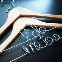 """i do"" & ""me too"" Hangers (Available in 5 Colors)-Hangers-Here Comes The Bling™"