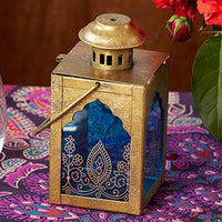 Indian Jewel Lantern-Decor-Candle Holder-Here Comes The Bling™