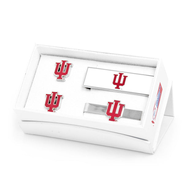 Indiana University Hoosiers 3-Piece Gift Set-Mens 3 Piece Gift Set-Here Comes The Bling™