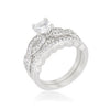 Infinity Twist Bridal Set-Rings-Here Comes The Bling™