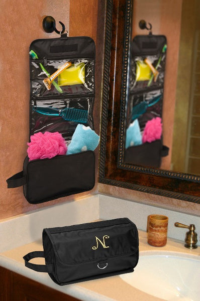 Jet-Setter Hanging Toiletry Bag-Pouch-Here Comes The Bling™